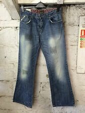 Men'S Cross Hatch Jeans in Denim PANNELLO Fresh URBAN STREET Designer 32 31 (1055)