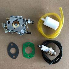 Carburetor & Fuel Line Husqvarna 51 55 Chainsaw 503281504 # Walbro WT-170-1 Carb