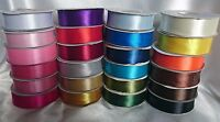 DOUBLE FACED SATIN RIBBON 3MM, 10MM, 16MM, 25MM 38MM 50MM- WEDDING CAKES *BOGOF*