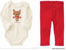 NEW GYMBOREE Holiday Shop  Reindeer  Outfit NWT SIZE  18-24 MONTHS