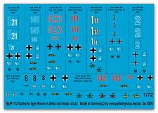 1/72 Tiger Panzer in Italien & Afrika 722