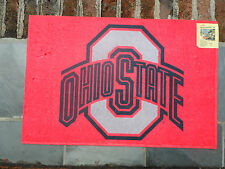 """Ohio State University 20""""x 30"""" NCAA Welcome Mat by Evergreen"""