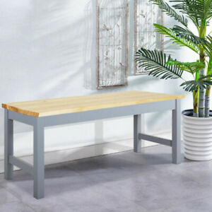 3FT Solid Pine Retro Wooden Benches 2-3 Seater Corner Kitchen Dining Bench Stool