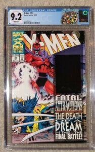 X-Men #25 Newsstand CGC 9.2 with Blue Hologram