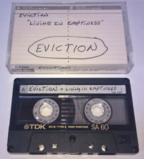 EVICTION Living In Emptiness CASSETTE TAPE Rare DEMO Thrash Metal ROCK