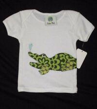 NWT Boutique Beebee Mod 12 18 M Mo Tee Shirt Top Bird Alligator Girl Applique