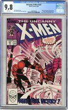 X-Men  #247  CGC  9.8  NMMT  White pgs  8/89  Master Mold, Nimrod, Sebastian Sha