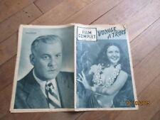 REVUE FILM COMPLET 264 1951 voyage a trois maria riquelme j bati raymond rouleau