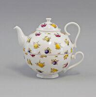 9952327 Porzellan  Tee-Set Tea for one Set Obst Jameson&Tailor 0,6l H14,5cm