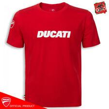 T-shirt Ducati Ducatiana Originale maglia moto Uomo Rossa 100% Cotone t shirt