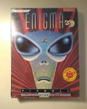 Epic Pinball: Enigma PC Game (DOS) BIG BOX BRAND NEW FACTORY SEALED