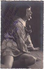 LIVINE MERTENS opera  soprano signed photo in L'enfant et les sortilèges