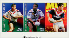 1997 Dynamic Rugby League Fatty Fun Pack Base Team set-SYDNEY CITY ROOSTERS(7)