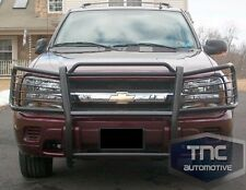 2002-2009 Chevrolet Trailblazer Brush Guard Grill Guard Black Powder Coat