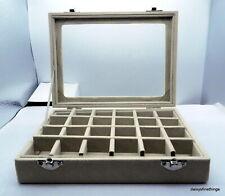 NEW! MULTI-PURPOSE LEATHER CHARM STORAGE BOX
