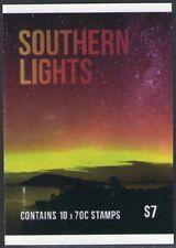 2014 AUSTRALIAN STAMP BOOKLET SOUTHERN LIGHTS - 10 x 70c MUH