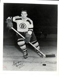 1 - Vintage 8 x 10 Photo of George Ranieri  - Boston Bruins - Autographed