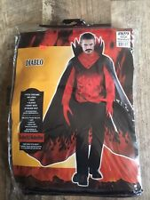DIABLO ADULT STANDARD HALLOWEEN COSTUME Brand New NEVER OPENED W TAGS