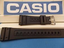 Casio watch band GW-5600 J-1 G-Shock Black Original Two-Piece Strap Resin
