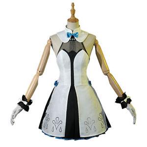 Genshin Impact Barbara Cosplay Girl Costume Dress Women Outfit Anime Halloween