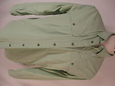 Orvis Trout Bum Mens Green Long Sleeve Fishing Shirt L