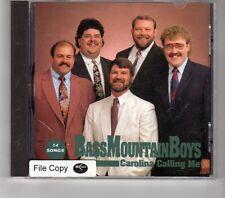 (HK563) Bass Mountain Boys, Carolina Calling Me - 1992 CD