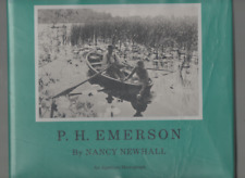 NANCY NEWHALL P H EMERSON THE FIGHT FOR PHOTOGRAPHY AS A FINE ART FIRST ED HB 75