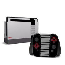 Nintendo Switch Aufkleber Skin Klebefolie Schutzfolie Sticker Design SNES Retro
