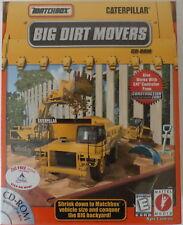 Matchbox Caterpillar Big Dirt Movers (Windows CD-ROM) Factory Sealed Big Box