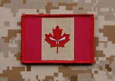 Subdued Canada Punisher Flag Patch Joint Task Force 2 JTF2 Special Forces