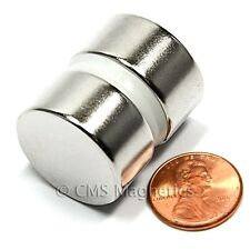 "N52 Disc Neodymium Magnets Dia 1x1/2"" Rare Earth Magnets 50 Count"