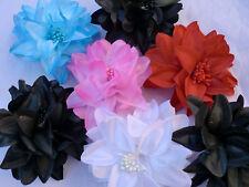 Wholesale 6 Flower Fabric Hair Clip (FL02)