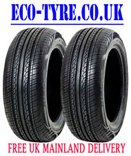 2X Tyres 195 60 R15 88V HIFLY HF201 M+S F C 71dB