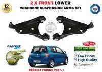 Pour Renault Twingo 2007- > 2X Avant Bras de Suspension Inférieur Bras+ Rotules