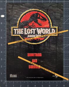 The Lost World: JURASSIC PARK__Original 1997 Trade Print AD / ADVERT__Spielberg