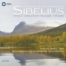 Paavo Berglund - Sibelius: Complete Symphonies, Tapiola, Karelia suite, [CD]