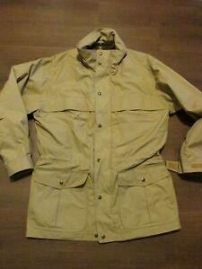 Eddie Bauer Khaki Wool Lined Mountain Parka Coat Men's Med CR25P