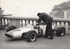 SINGLE SEATER RACING CAR No.68 WITH TWO FLAT TYPES PERIOD PHOTOGRAPH 22 MAY 1966