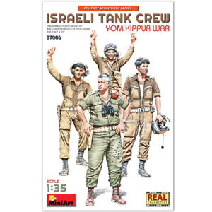 MIN37086 - Miniart 1:35 - Israeli Tank Crew, Yom Kippur War
