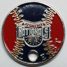 Washington Nationals Pathtag Coin MLB Series Only 100 Complete Sets Made!