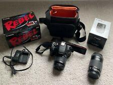 Canon Eos Rebel T3i 18.0Mp Digital Slr Camera Kit Ef-S 18-55mm & 55-250mm Lenses