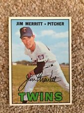 +++ Jim Merritt 1967 Topps Baseball Card #523 - Minnesota Twins +++