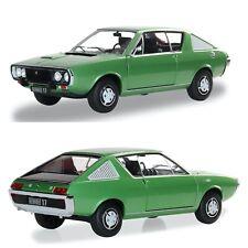 1/18 solido renault r17 mk1 vert métal vernis 1976 neuf livr colissimo gratuite