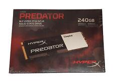 HyperX Predator 240GB SSD M.2 PCIe G2 x4 SHPM2280P2/240G HP Z420 Z620 Z820 Z230