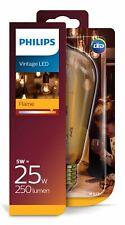 Philips 8718696743058 E27 Vintage LED Flame Leuchtmittel 5W (25W) 2000k 250Lm Fl