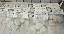 Pumice Pet Chews Bird Chinchilla 10 display bags of 3 pieces each