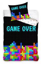 Gamer Retro Tetris - Bettwäsche - Set 135 140x200 Bettwaren Bezug Garnitur NEU