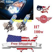 H7 Halogen Xenon Headlight Bright White 5000K 100w Lamp Bulb Fog Light USA