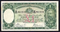 Australia 1 Pound ND P-22  1933  (M35)  VF
