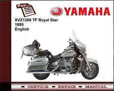 Yamaha XVZ1300 TF Royal Star 1999 Workshop Service Repair Manual